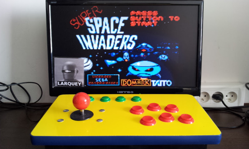 Larquey: Super Space Invaders [Easy] (Sega Game Gear Emulated) 89,600 points on 2017-05-21 10:09:47