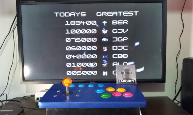 Larquey: Super Space Invaders [Easy] (Sega Game Gear Emulated) 183,400 points on 2018-05-12 13:59:06