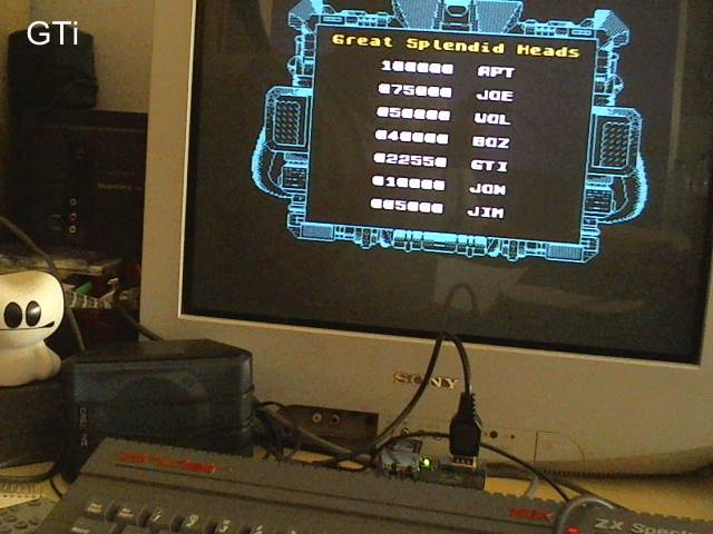 GTibel: Super Space Invaders: Medium (ZX Spectrum) 22,550 points on 2017-05-31 13:32:50