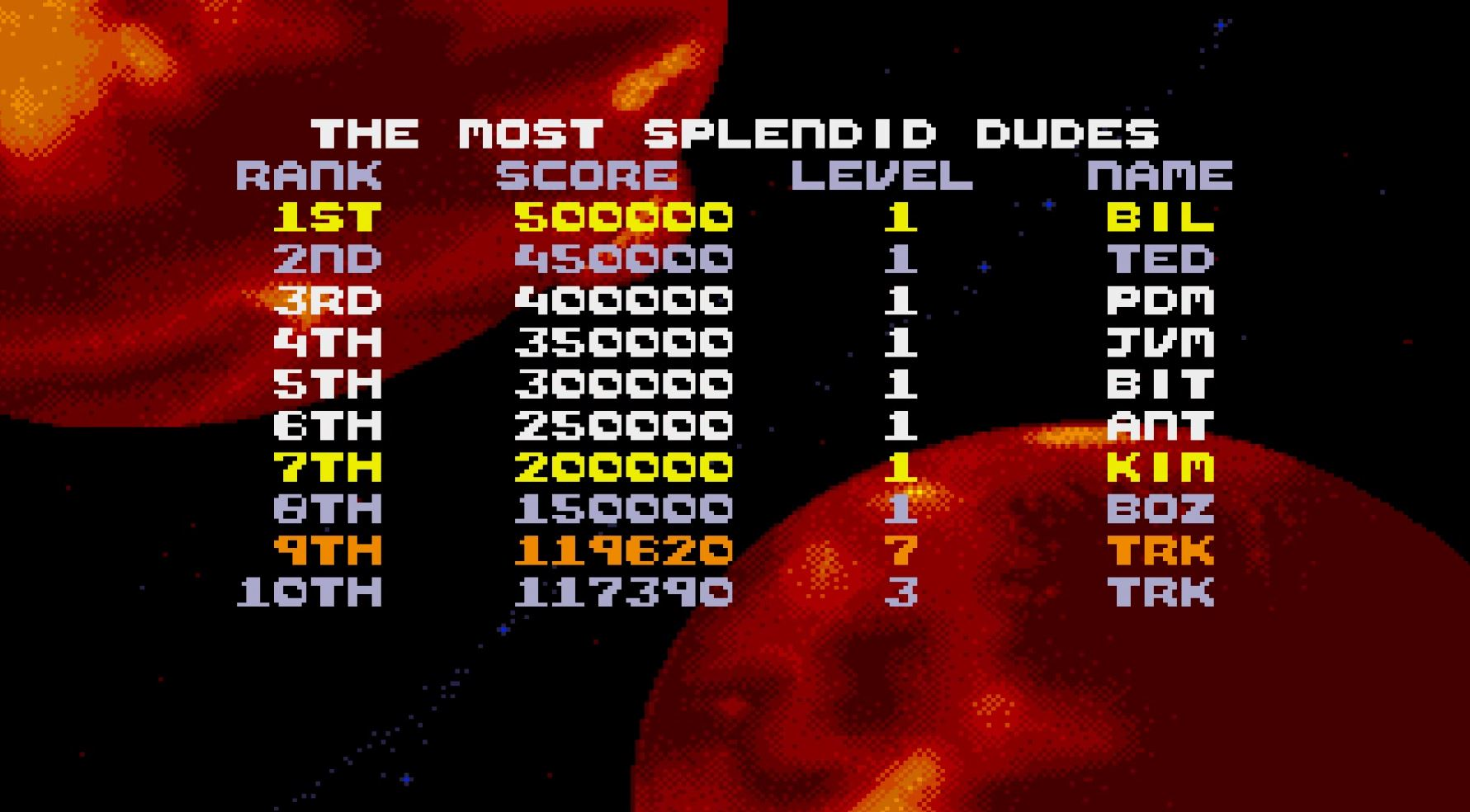 Super Space Invaders [Normal] 119,620 points