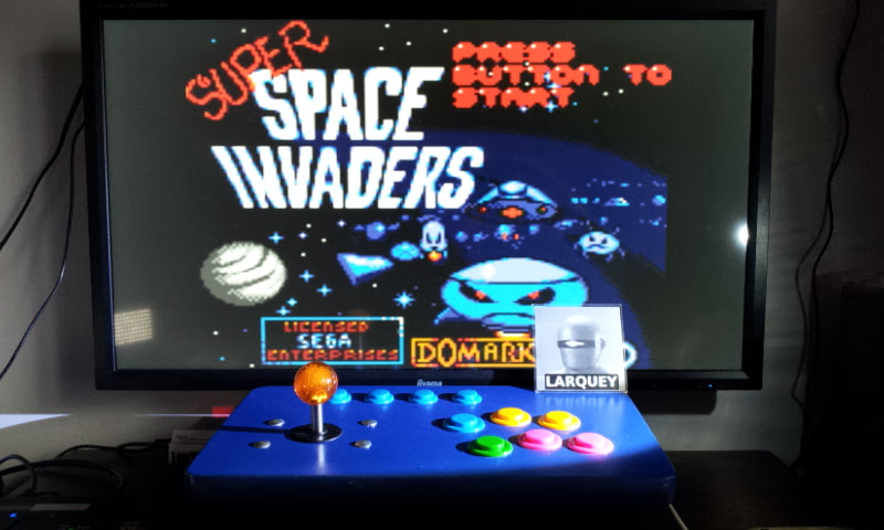 Larquey: Super Space Invaders [Normal] (Sega Game Gear Emulated) 138,950 points on 2018-05-10 16:22:21