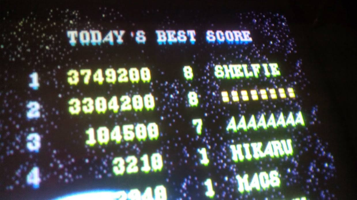 Super Spacefortress Macross 3,749,200 points