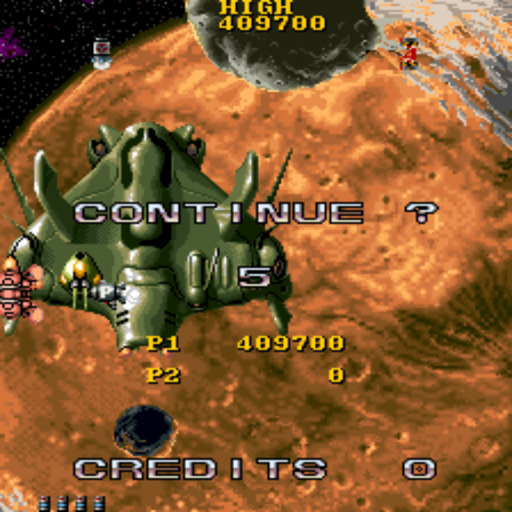 S.BAZ: Super Spacefortress Macross [macross] (Arcade Emulated / M.A.M.E.) 409,700 points on 2018-02-01 18:00:29