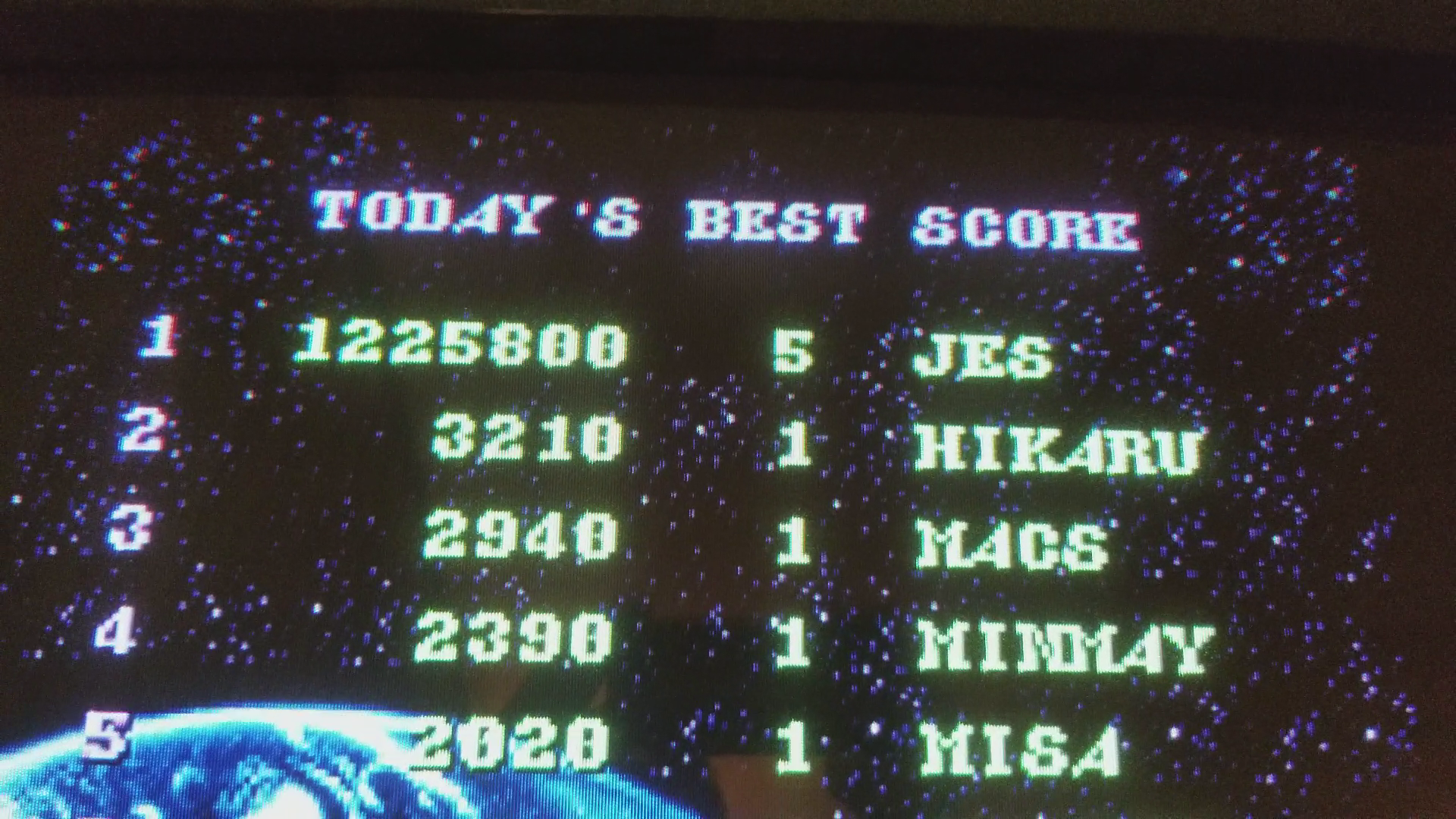 JES: Super Spacefortress Macross [macross] (Arcade Emulated / M.A.M.E.) 1,225,800 points on 2018-02-01 21:47:13