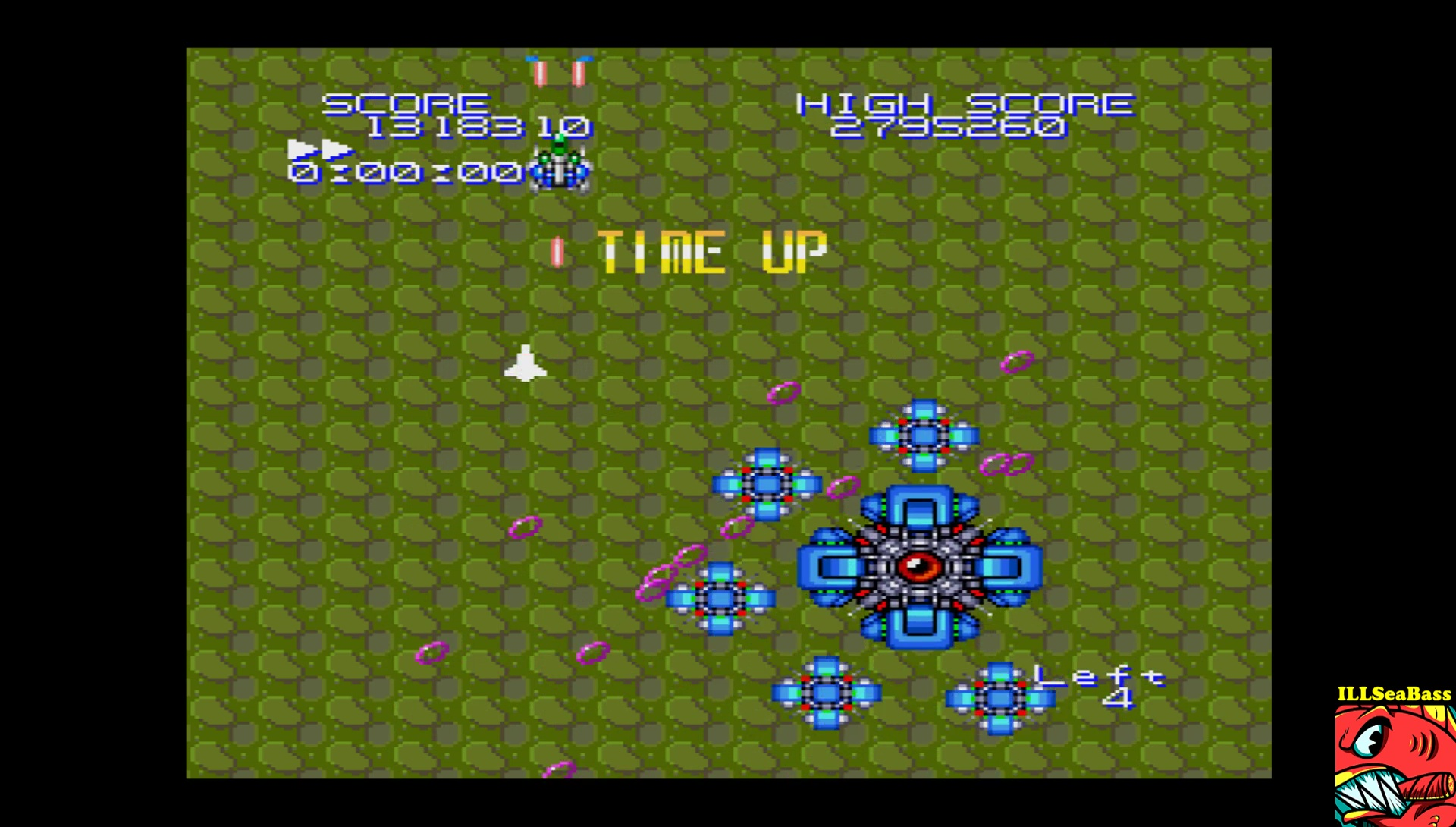 ILLSeaBass: Super Star Shooter: Version 2.00 [5 Minutes Game] (Sharp X68000 Emulated) 1,318,310 points on 2017-06-24 11:43:12