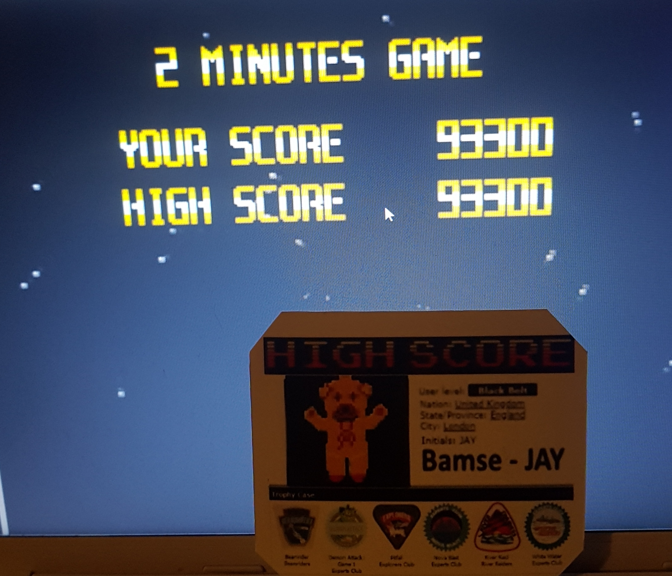 Bamse: Super Star Soldier [2 Minutes Game] (TurboGrafx-16/PC Engine Emulated) 93,300 points on 2019-10-18 15:09:28