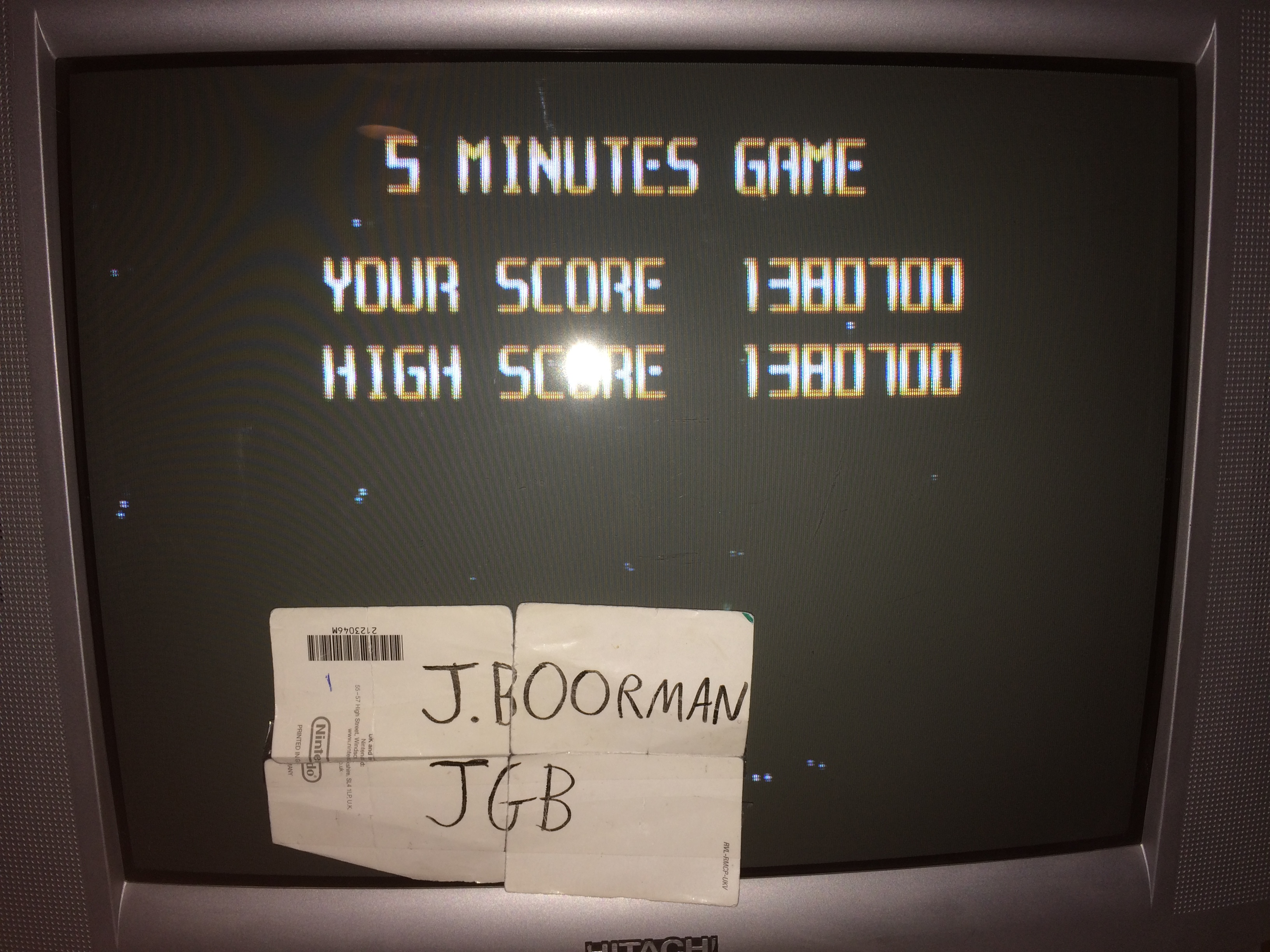 JBoorman: Super Star Soldier [5 Minute Caravan Mode] (Wii Virtual Console: TurboGrafx-16) 1,380,700 points on 2018-02-17 17:41:41