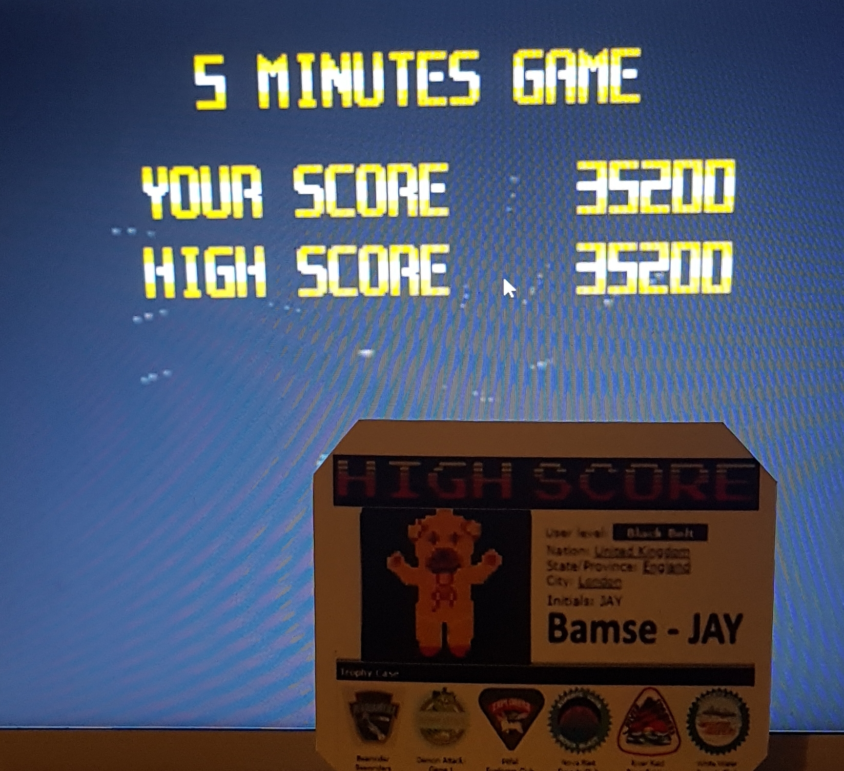 Bamse: Super Star Soldier [5 Minutes Game] (TurboGrafx-16/PC Engine Emulated) 35,200 points on 2019-10-18 15:06:06