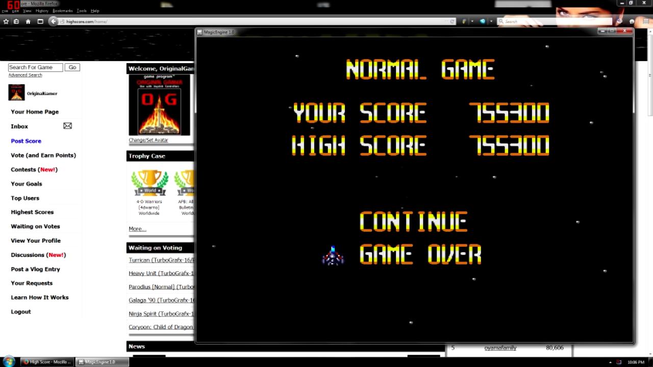 OriginalGamer: Super Star Soldier (TurboGrafx-16/PC Engine Emulated) 755,300 points on 2015-08-17 00:59:47