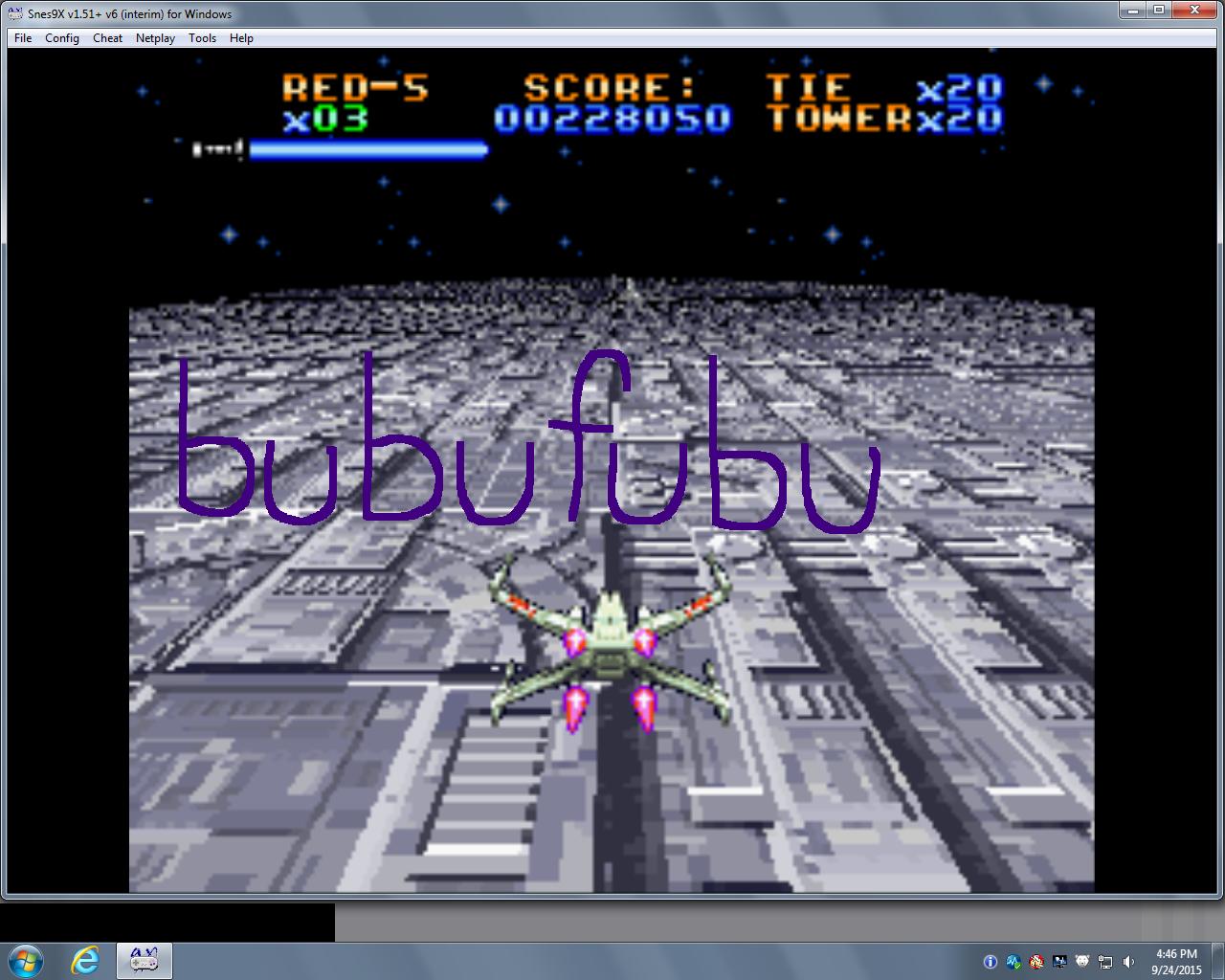 bubufubu: Super Star Wars (SNES/Super Famicom Emulated) 228,050 points on 2015-10-29 15:13:17