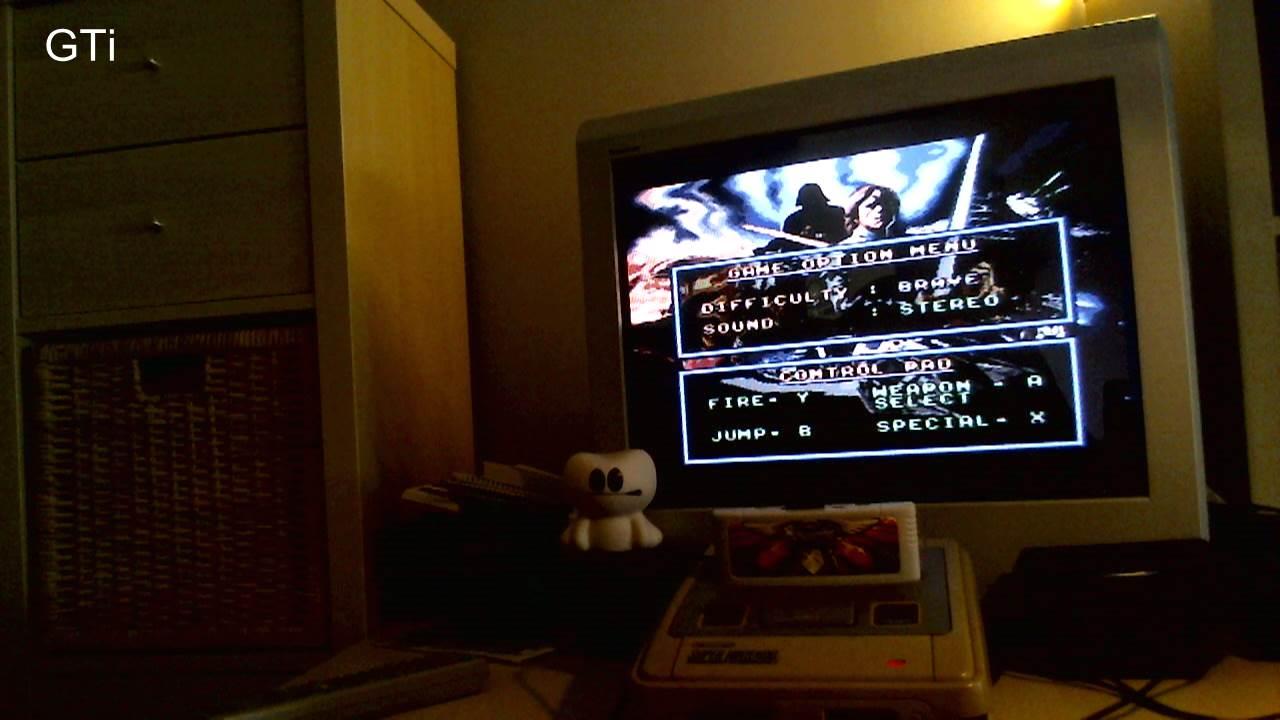 GTibel: Super Star Wars: The Empire Strikes Back [Brave] (SNES/Super Famicom) 11,775 points on 2016-11-12 10:01:25