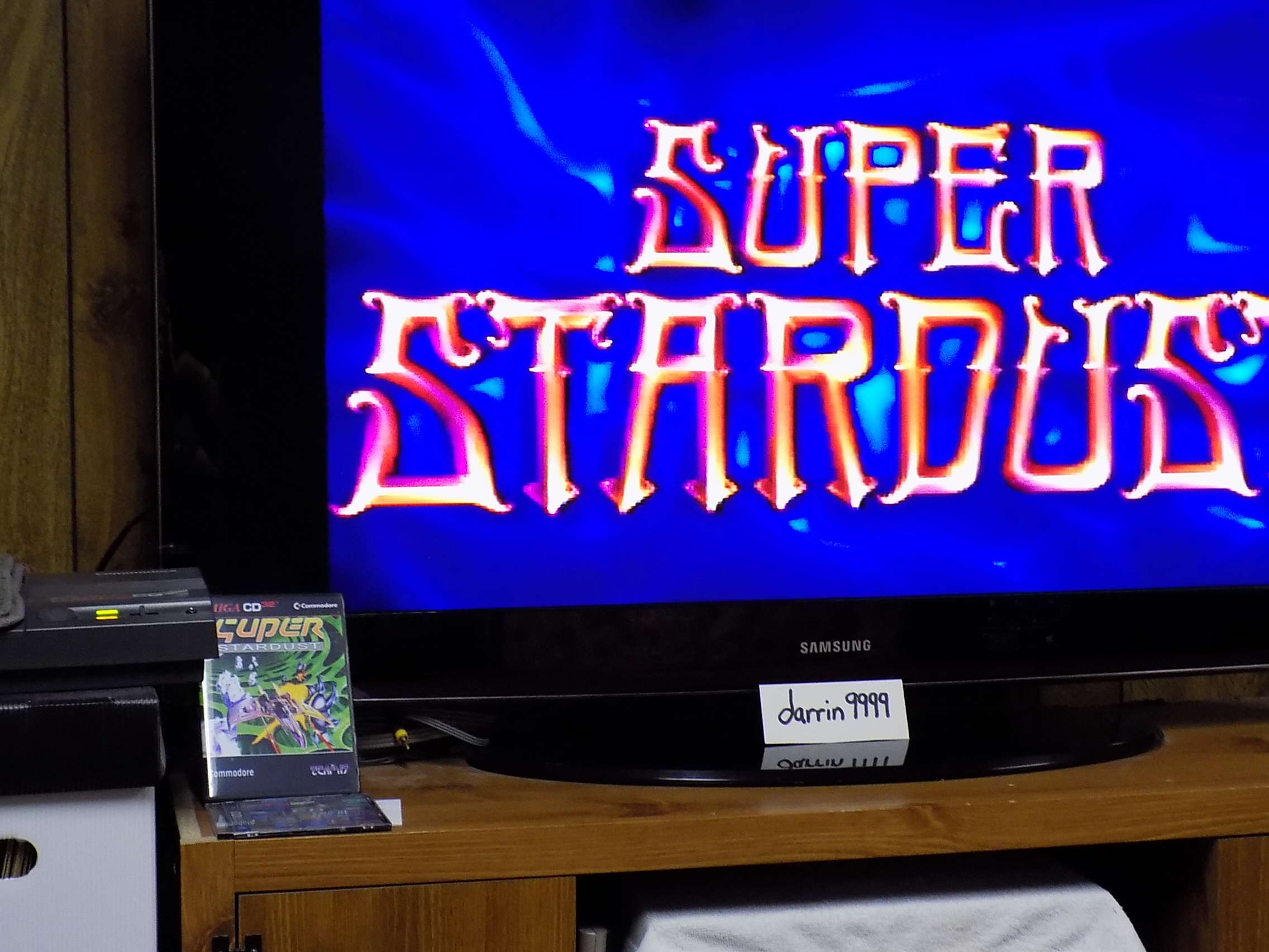 darrin9999: Super Stardust [3 Lives Start] (Amiga) 116,100 points on 2019-10-27 08:16:54
