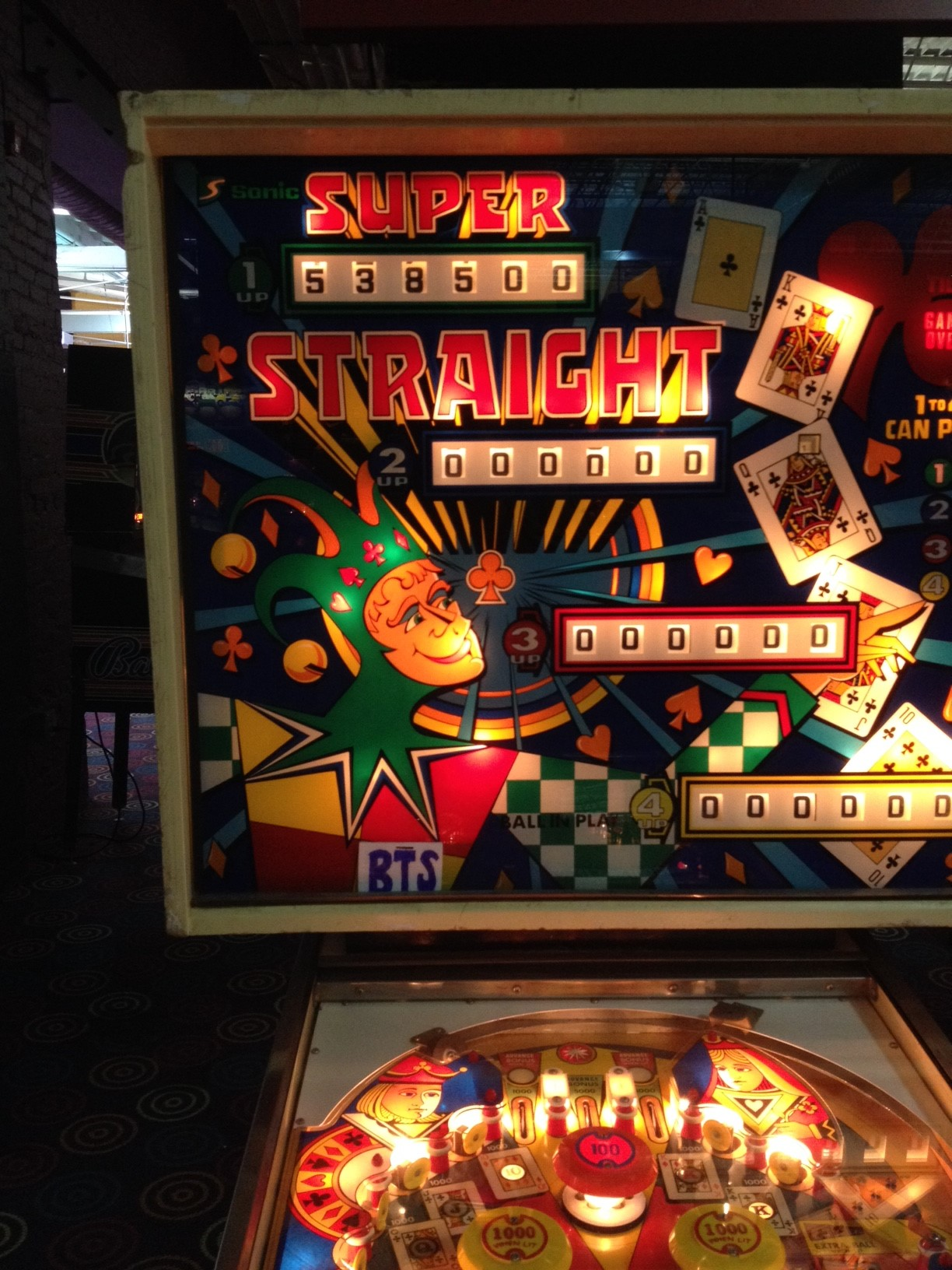 bensweeneyonbass: Super Straight (Pinball: 5 Balls) 538,500 points on 2016-03-21 09:05:46