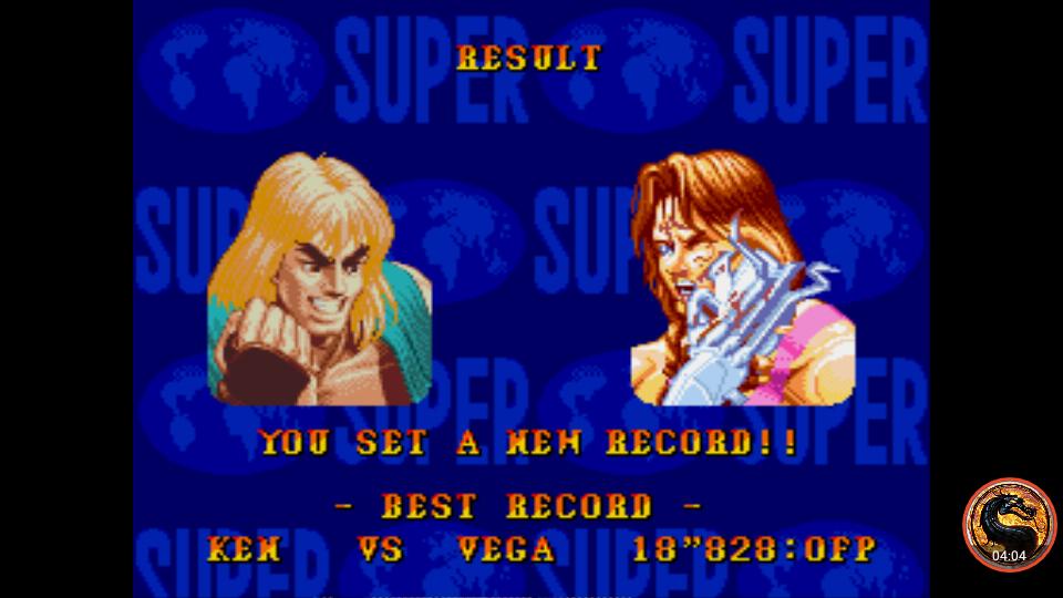 omargeddon: Super Street Fighter II: The New Challengers [Challenge / Time Challenge] (Sega Genesis / MegaDrive Emulated) 0:00:18.828 points on 2019-01-29 11:26:38