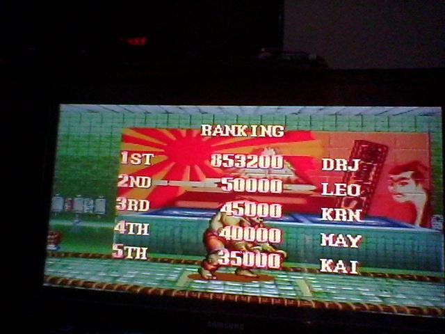 DrJoshDaRealGamer25B: Super Street Fighter II: The New Challengers [Super Battle: Difficulty 3] (SNES/Super Famicom) 853,200 points on 2018-07-08 17:03:29