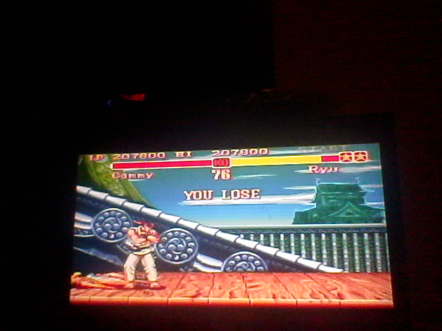 Super Street Fighter II: The New Challengers [Super Battle: Difficulty 4] 207,800 points
