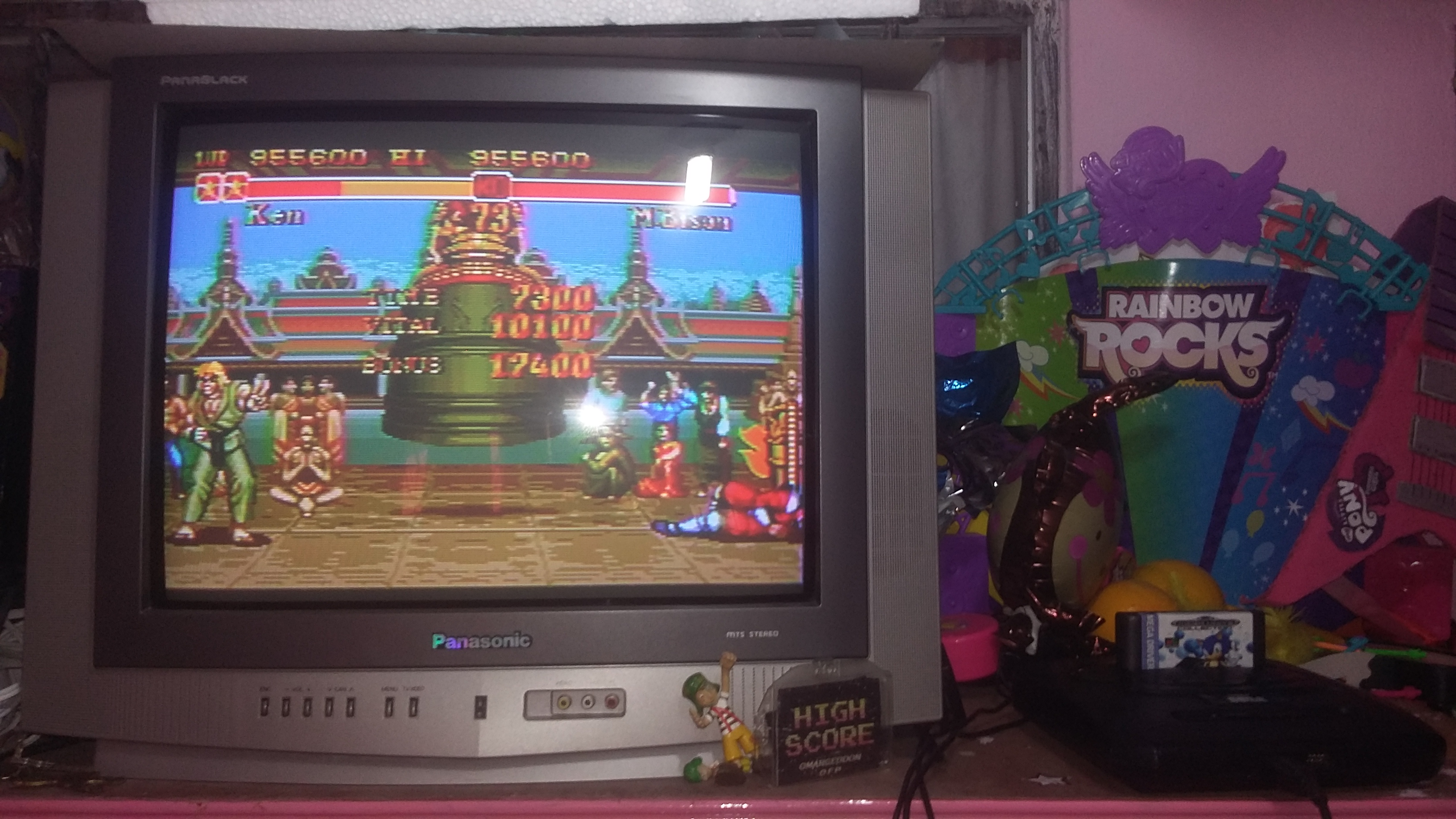 omargeddon: Super Street Fighter II: The New Challengers [Super mode] (Sega Genesis / MegaDrive) 955,600 points on 2018-08-11 18:48:05