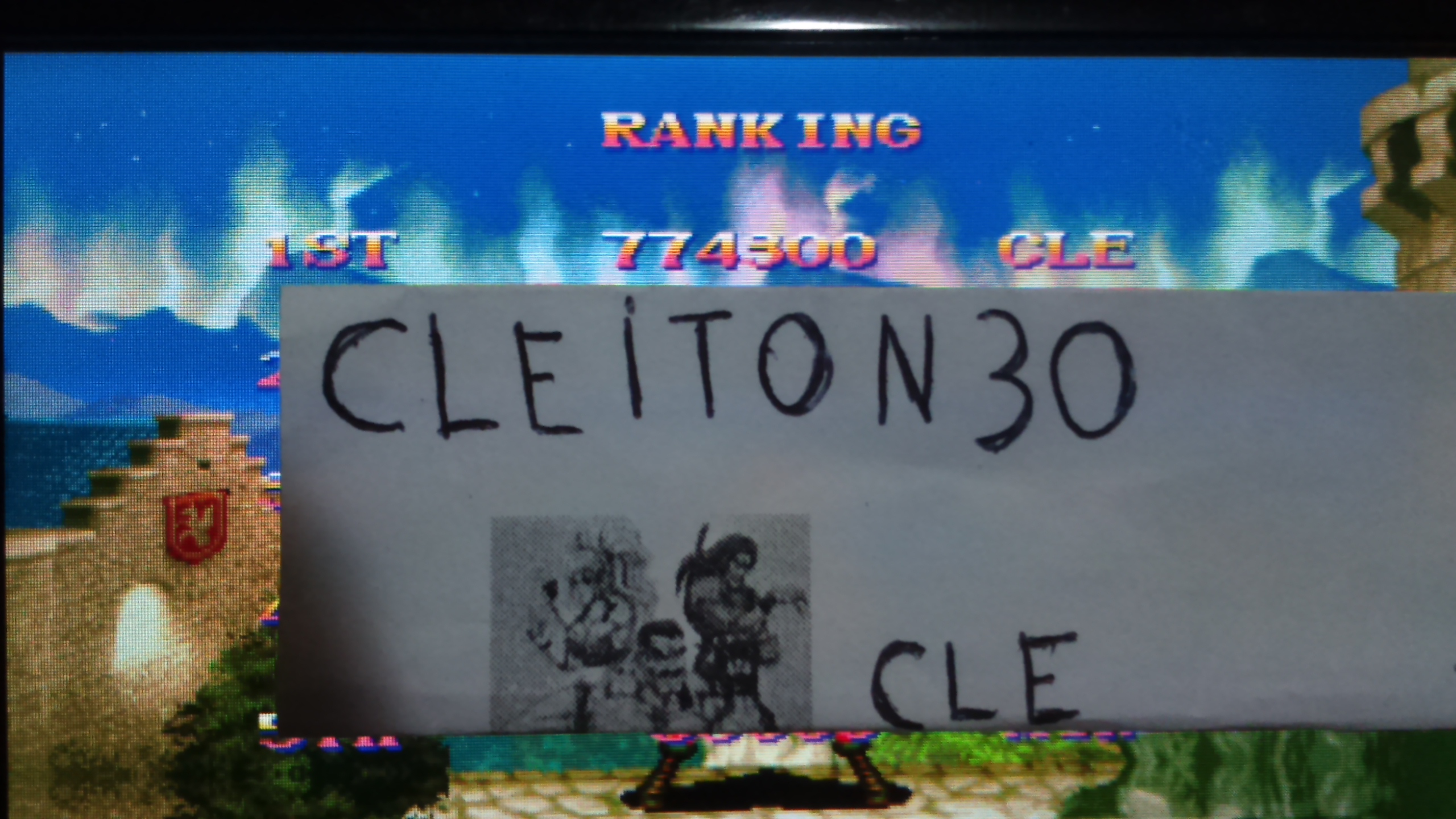 Cleiton30: Super Street Fighter II: The New Challengers [ssf2] (Arcade Emulated / M.A.M.E.) 774,300 points on 2016-05-22 21:34:10