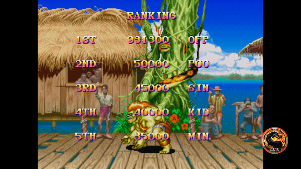 Super Street Fighter II: The New Challengers [ssf2] 931,300 points
