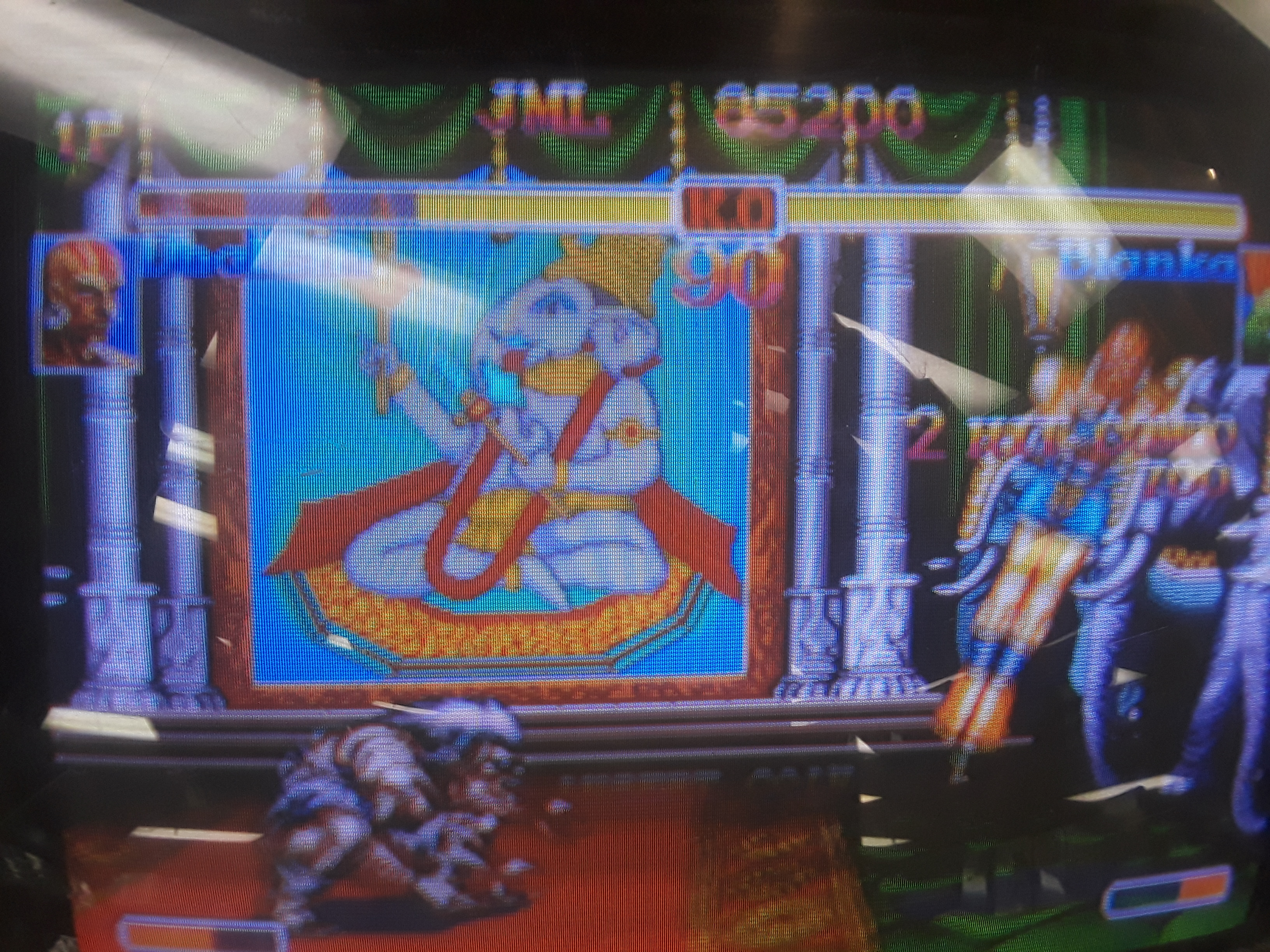 Super Street Fighter II Turbo 85,200 points
