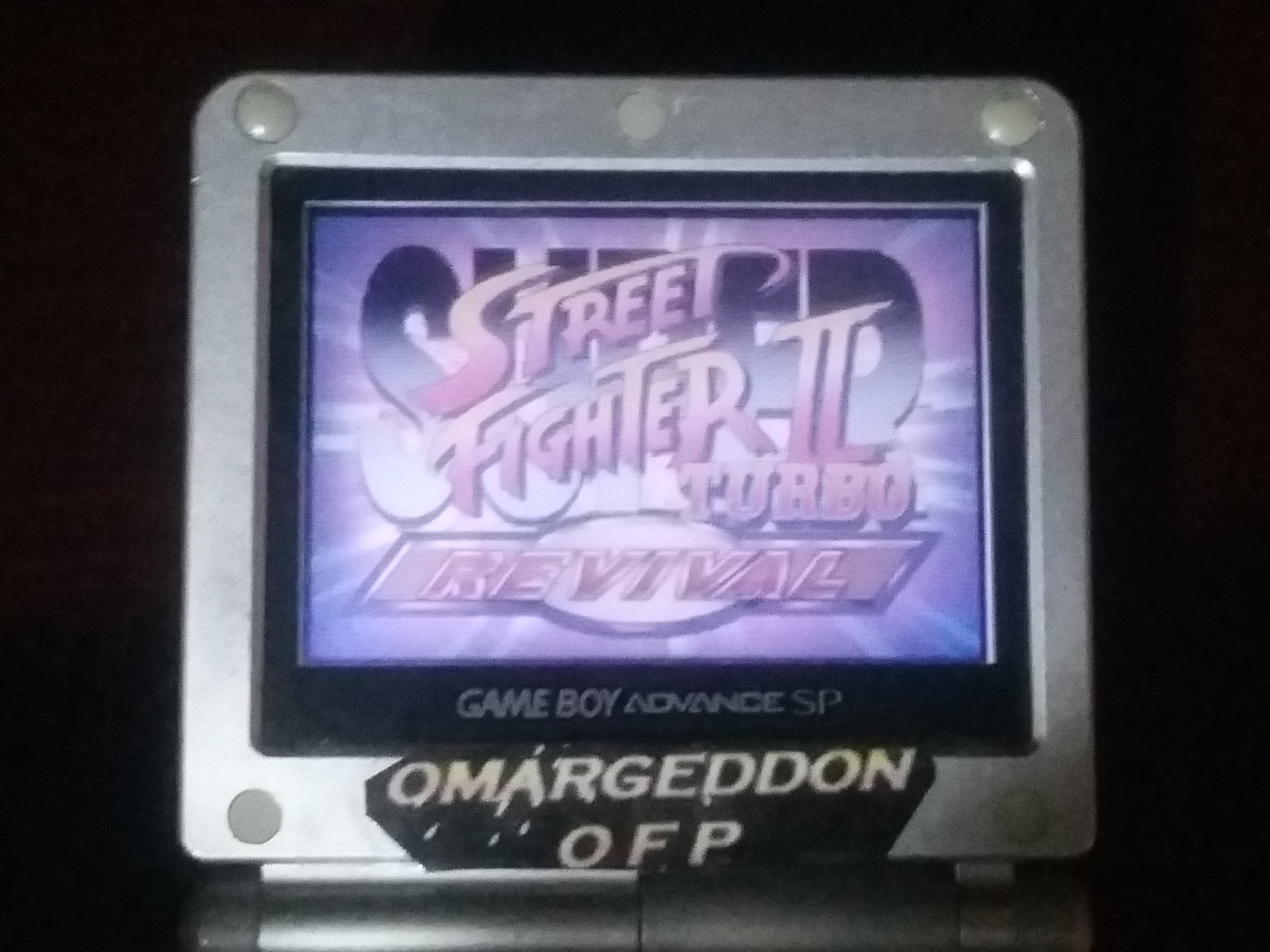 omargeddon: Super Street Fighter II Turbo Revival [Arcade Mode / Difficulty: Level 1] (GBA) 286,700 points on 2018-01-17 14:48:26