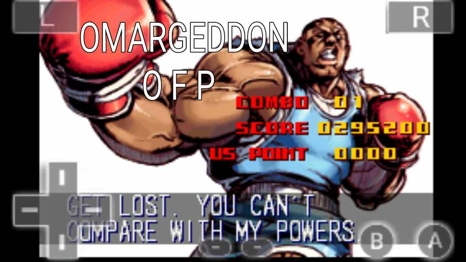 omargeddon: Super Street Fighter II Turbo Revival [Arcade Mode / Difficulty: Level 2] (GBA Emulated) 295,200 points on 2016-10-22 16:30:30