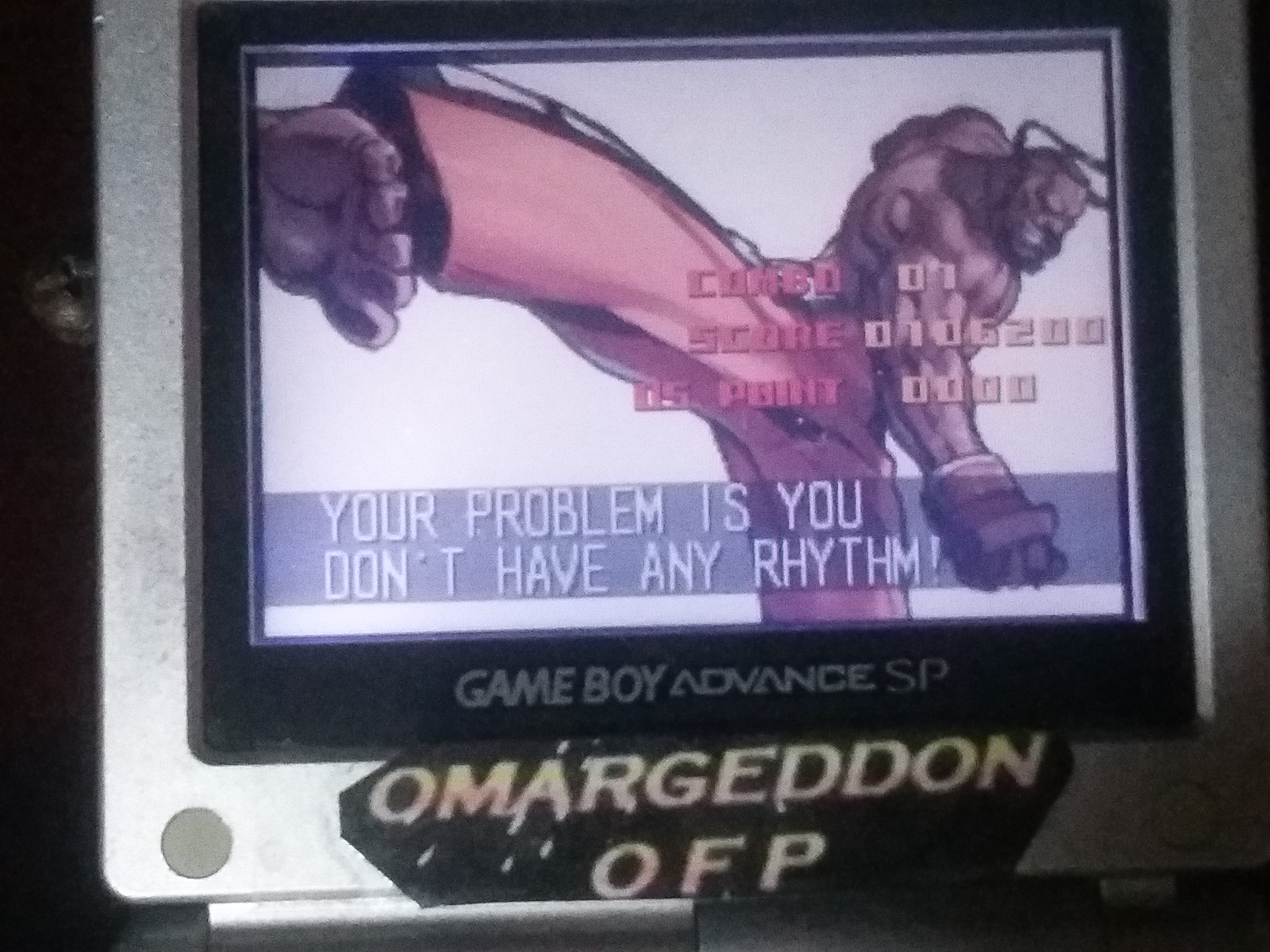 omargeddon: Super Street Fighter II Turbo Revival [Arcade Mode / Difficulty: Level 6] (GBA) 106,200 points on 2018-01-17 15:36:37