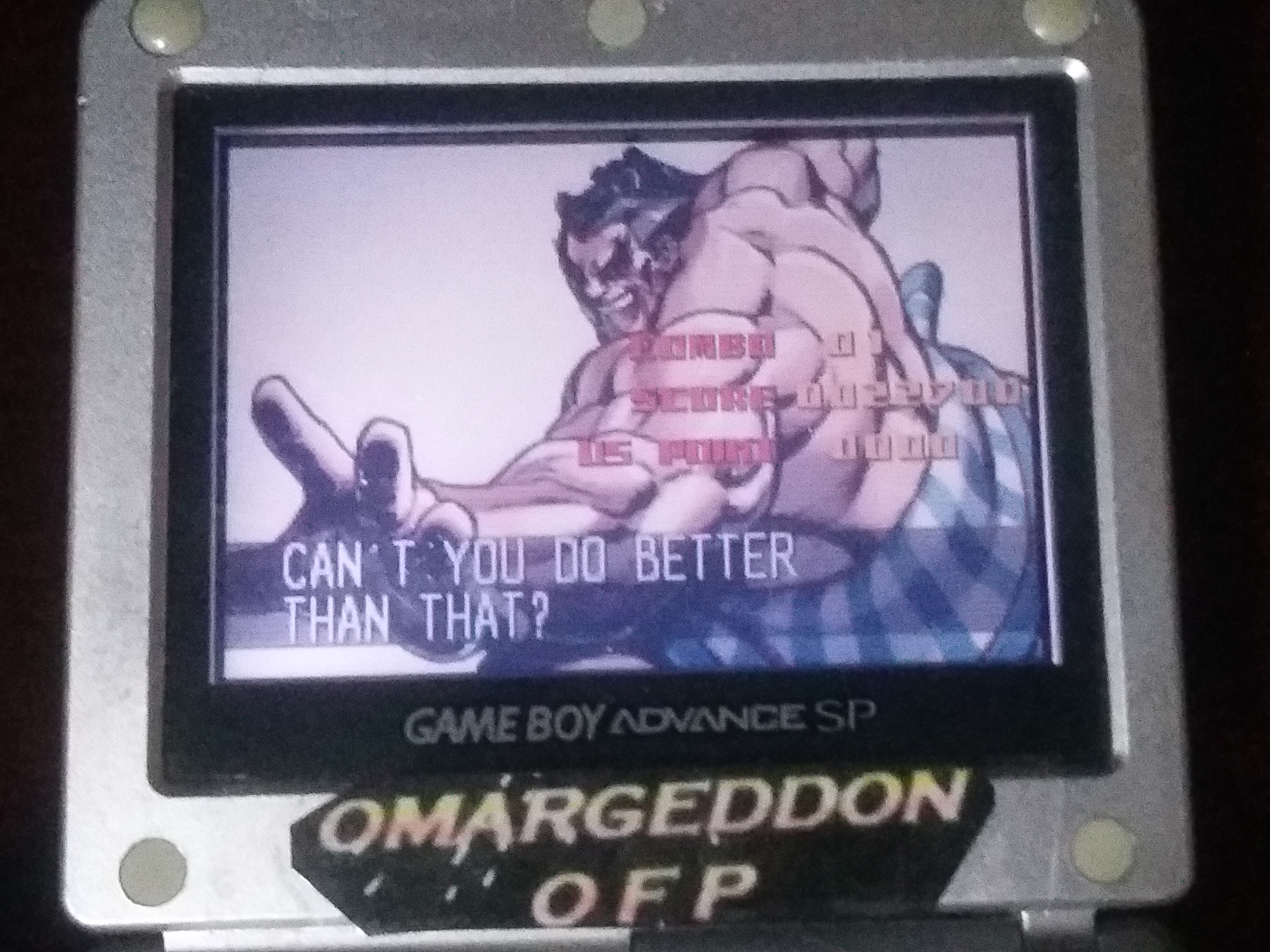 omargeddon: Super Street Fighter II Turbo Revival [Arcade Mode / Difficulty: Level 7] (GBA) 22,700 points on 2018-01-17 15:46:13