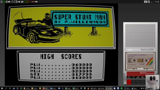 GTibel: Super Stuntman (ZX Spectrum Emulated) 17,730 points on 2019-01-25 06:47:39