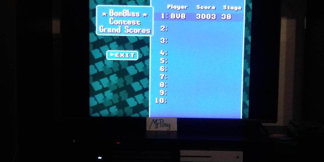 MrPong: Super Tetris 2 + Bombliss [Contest] [Stage 1 Start] (SNES/Super Famicom Emulated) 3,003 points on 2019-04-04 16:54:27