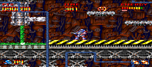 wolfman24: Super Turrican (SNES/Super Famicom Emulated) 90,200 points on 2015-08-13 11:55:31