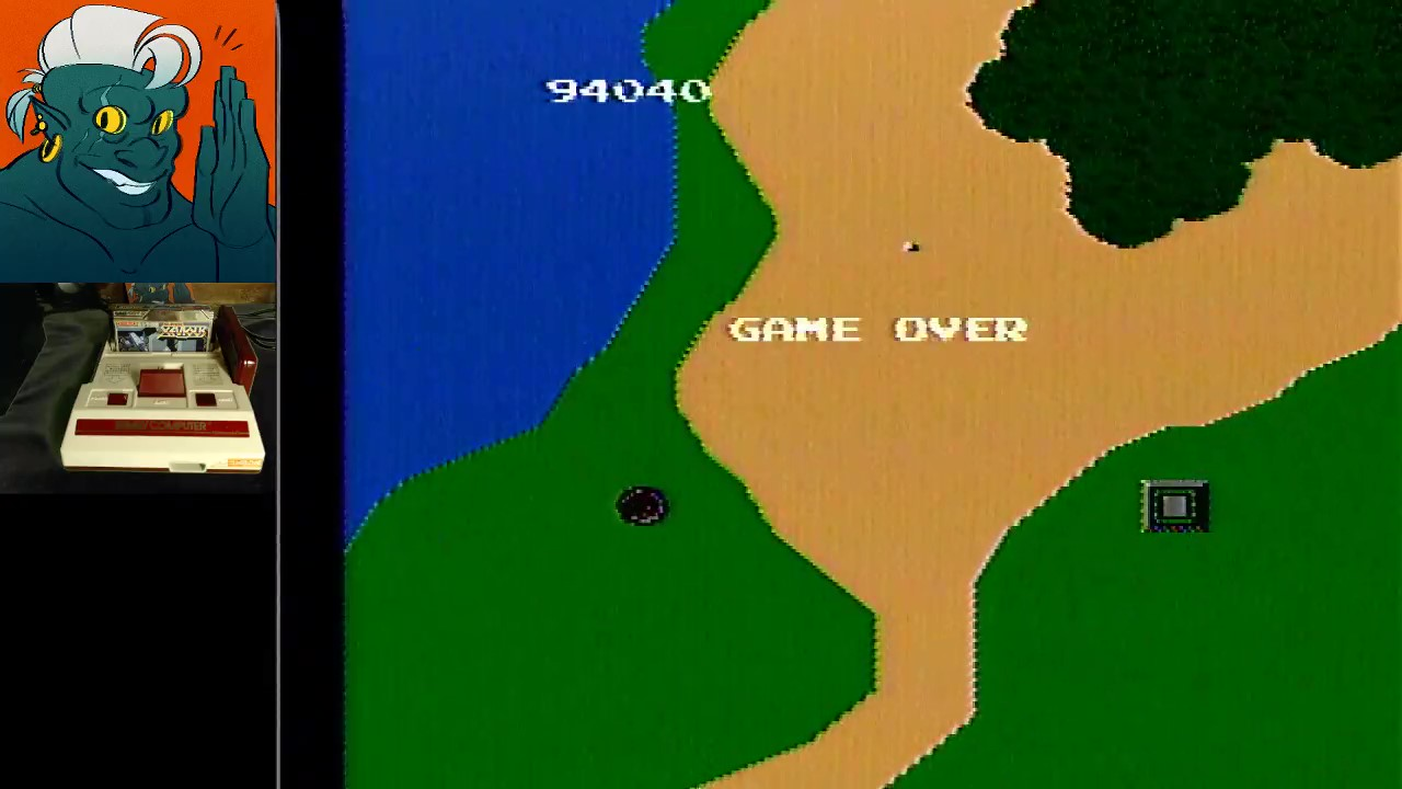 Super Xevious 94,040 points