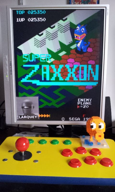 Super Zaxxon 25,350 points