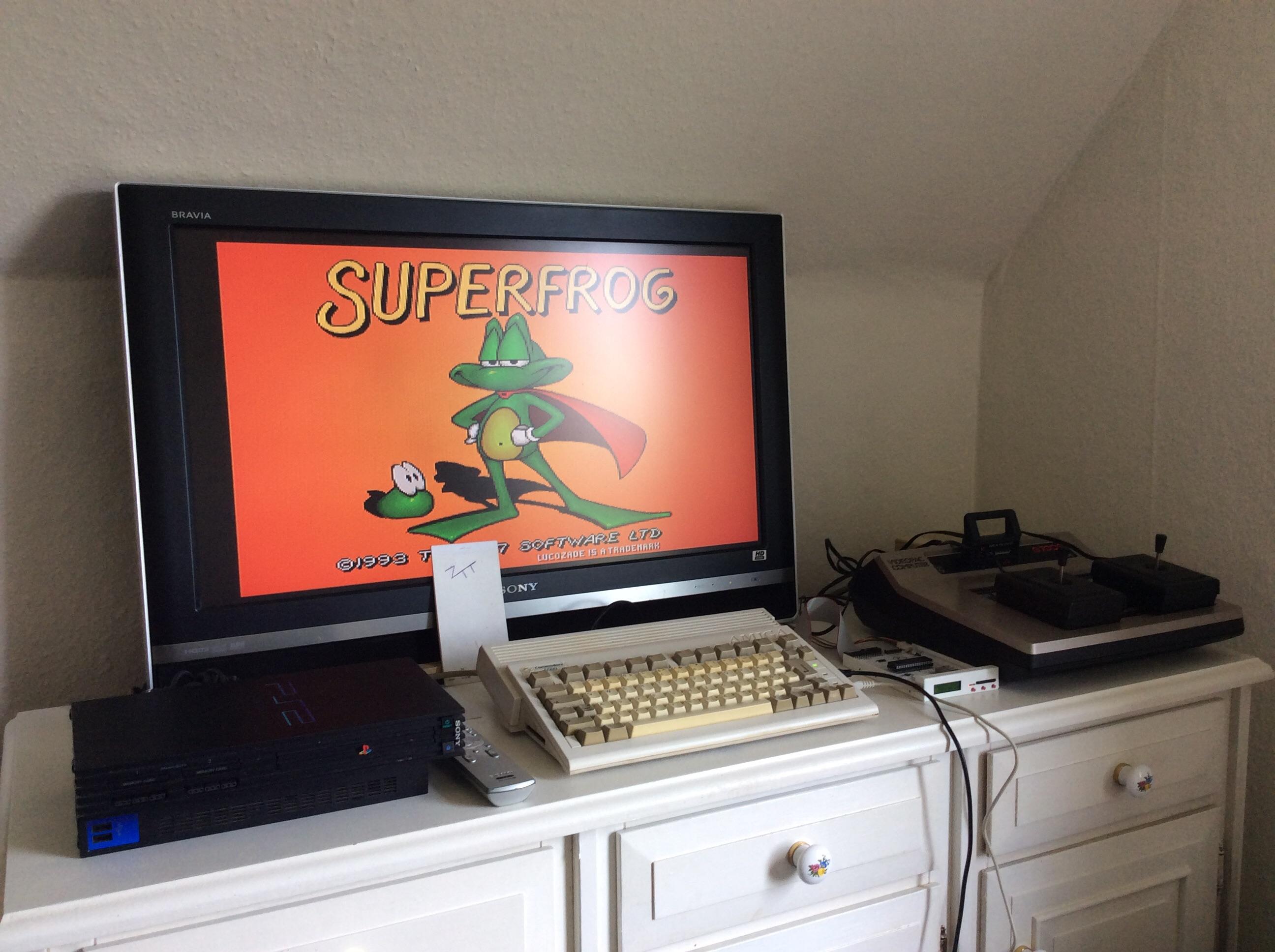Frankie: Superfrog (Amiga) 2,752,100 points on 2016-08-08 06:34:00