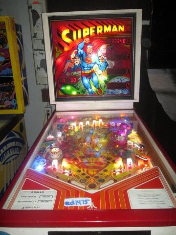 ed1475: Superman (Pinball: 3 Balls) 177,340 points on 2019-01-21 13:53:38