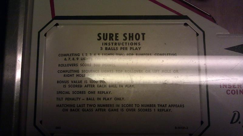 Sure Shot 59,170 points
