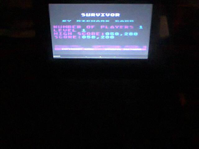 ecworiginal: Survivor (Atari 400/800/XL/XE Emulated) 50,280 points on 2016-05-06 12:07:42