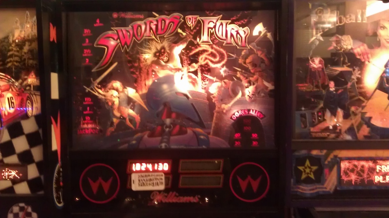 ichigokurosaki1991: Swords of Fury (Pinball: 3 Balls) 1,824,130 points on 2016-04-05 01:01:43