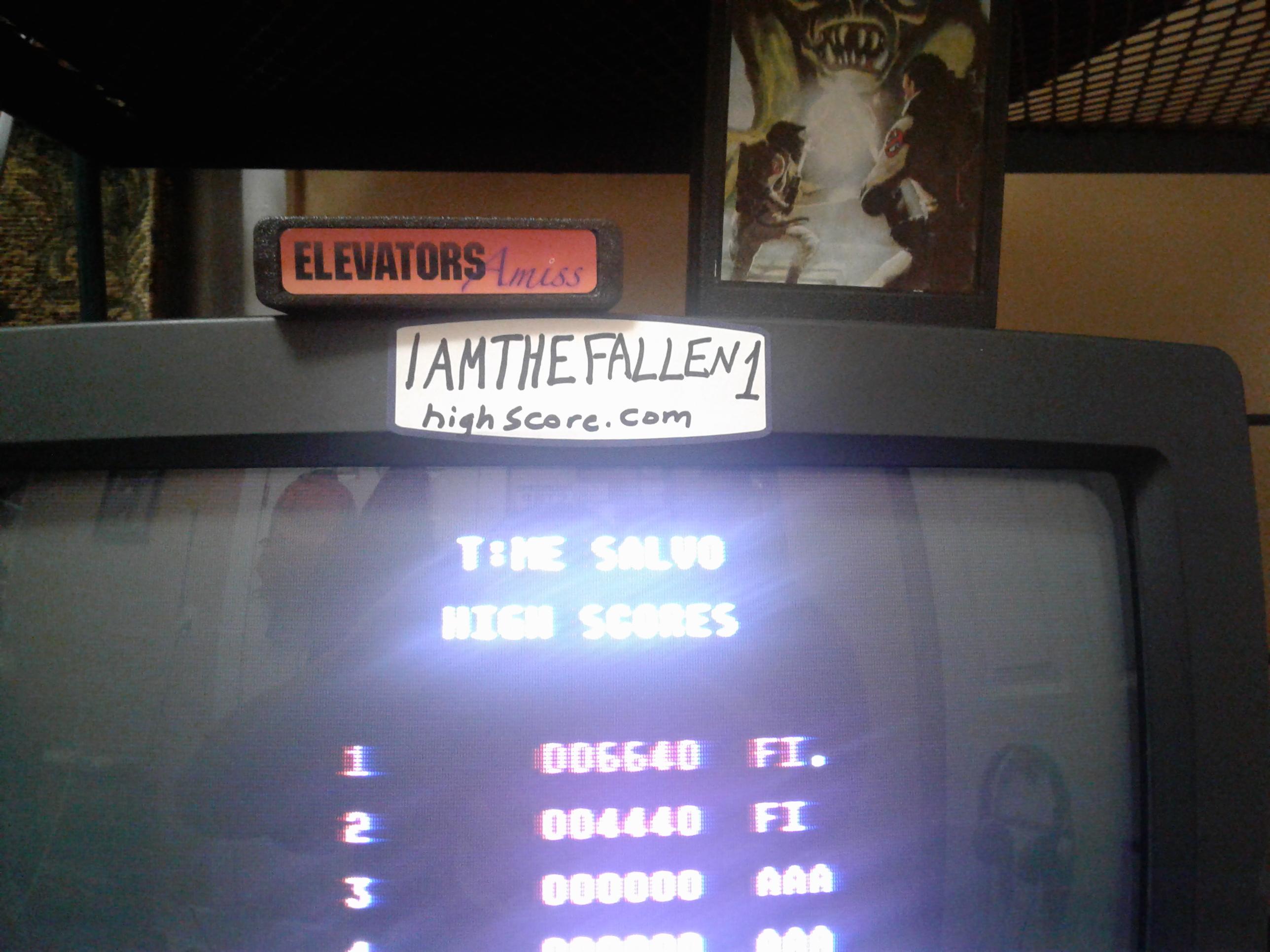 iamthefallen1: T:ME Salvo (Atari 7800) 6,640 points on 2017-12-28 20:49:24