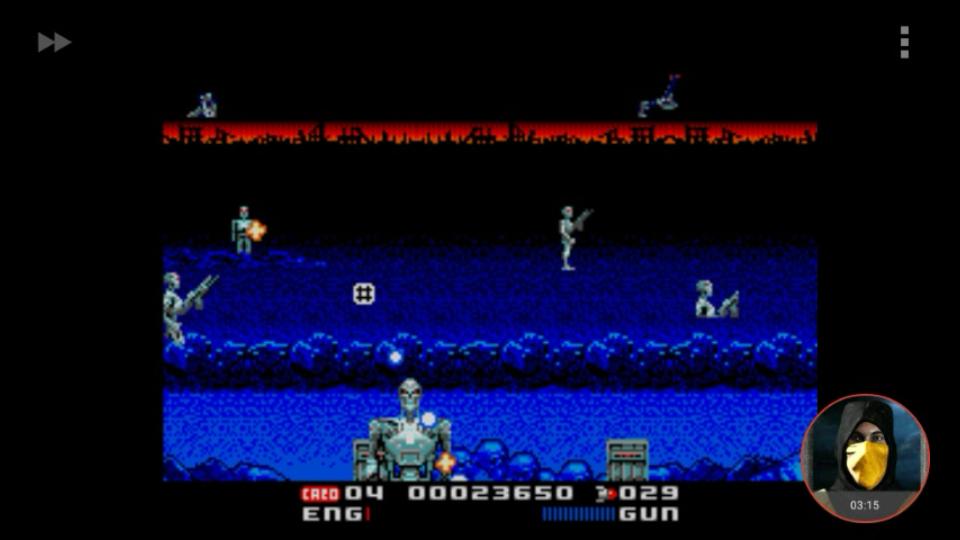 omargeddon: T2: The Arcade Game (Sega Genesis / MegaDrive Emulated) 23,650 points on 2018-02-19 00:54:14