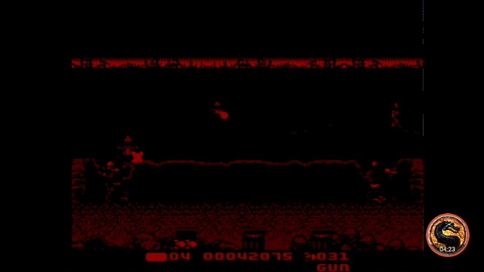 omargeddon: T2 The Arcade Game [Skill: Easy] (Sega Master System Emulated) 42,075 points on 2019-04-08 01:53:03