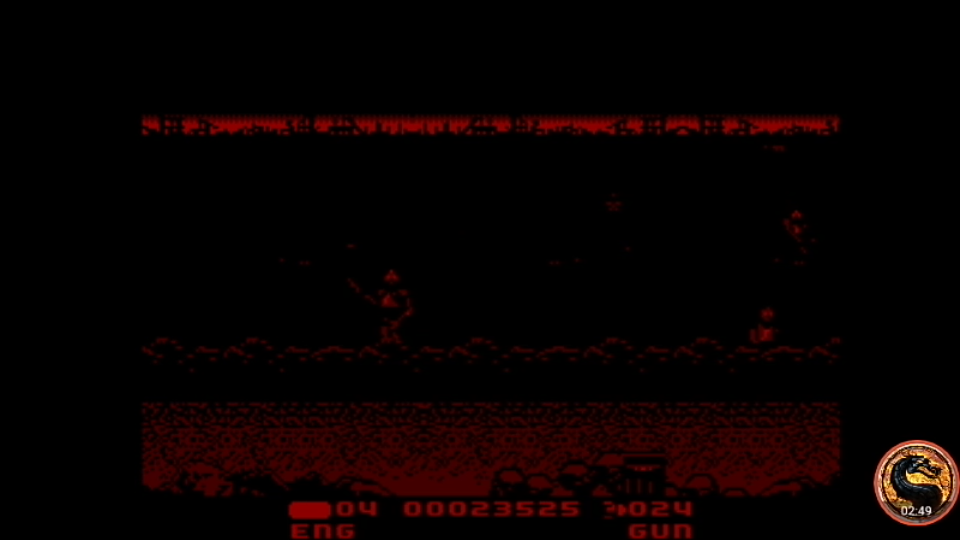 omargeddon: T2 The Arcade Game [Skill: Hard] (Sega Master System Emulated) 23,525 points on 2019-04-08 01:54:22