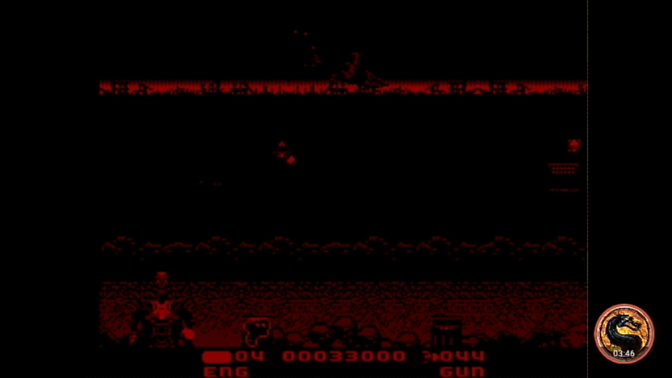 omargeddon: T2 The Arcade Game [Skill: Normal] (Sega Master System Emulated) 33,000 points on 2019-04-08 01:53:41