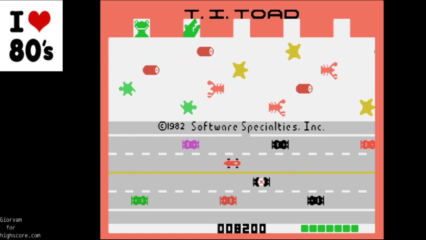 Giorvam: TI Toad (TI 99/4A Emulated) 8,200 points on 2020-01-19 07:07:26