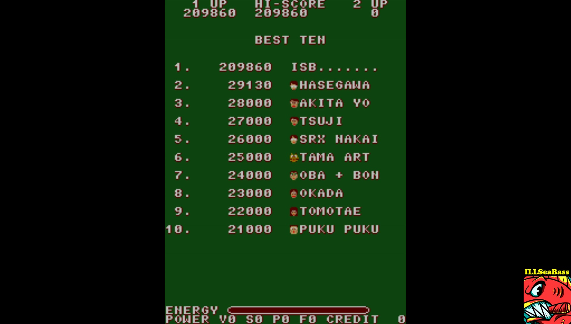 ILLSeaBass: T.N.K. III (Arcade Emulated / M.A.M.E.) 209,860 points on 2017-08-11 19:39:50
