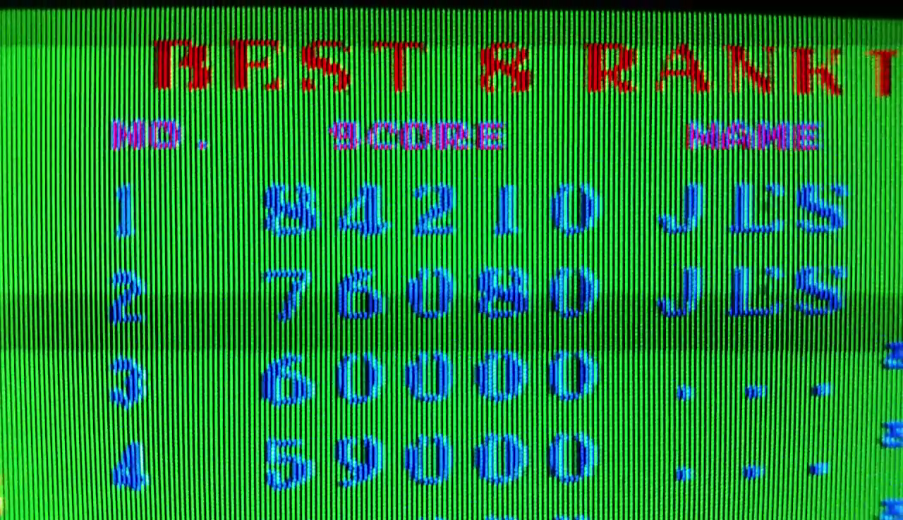 JES: TX-1 (Arcade Emulated / M.A.M.E.) 84,210 points on 2017-03-08 22:48:38