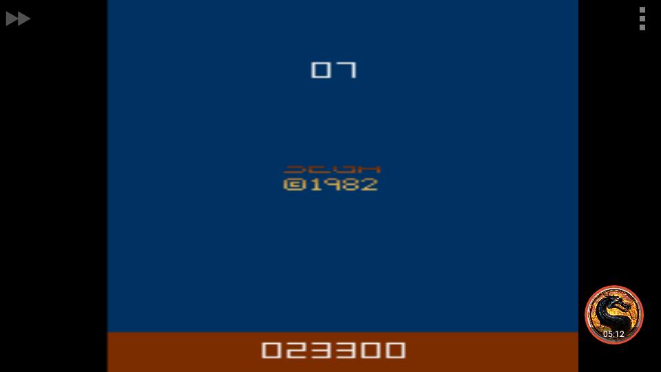 omargeddon: Tac-Scan (Atari 2600 Emulated Novice/B Mode) 23,300 points on 2018-12-29 00:16:40