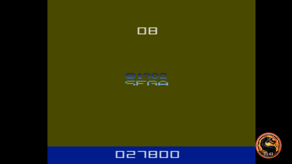 omargeddon: Tac-Scan (Atari 2600 Emulated Novice/B Mode) 27,800 points on 2019-11-02 19:19:27