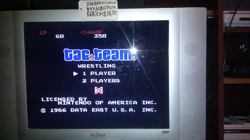 ichigokurosaki1991: Tag Team Wrestling [Number of Wins] (NES/Famicom) 6 points on 2016-08-24 23:53:45