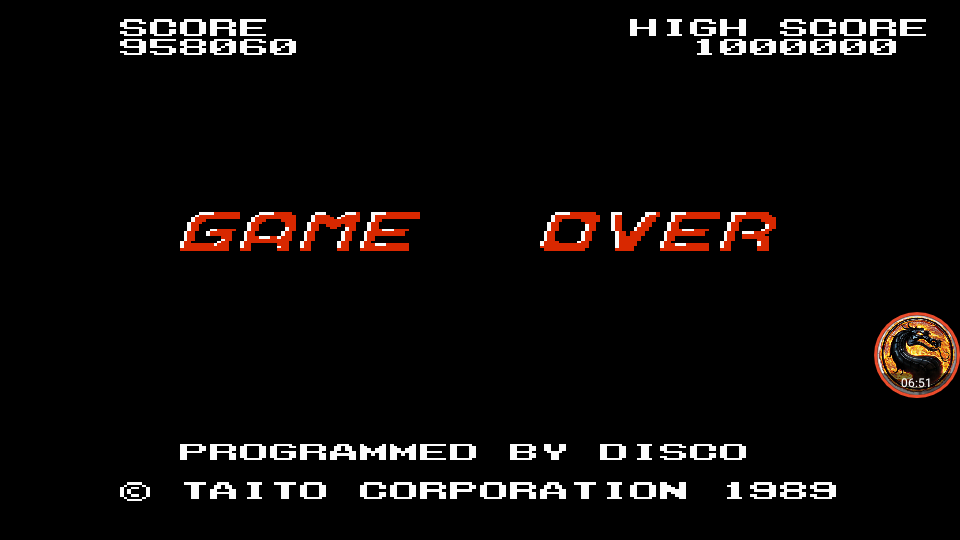 omargeddon: Taito Chase H.Q. (NES/Famicom Emulated) 958,060 points on 2019-01-28 23:55:58